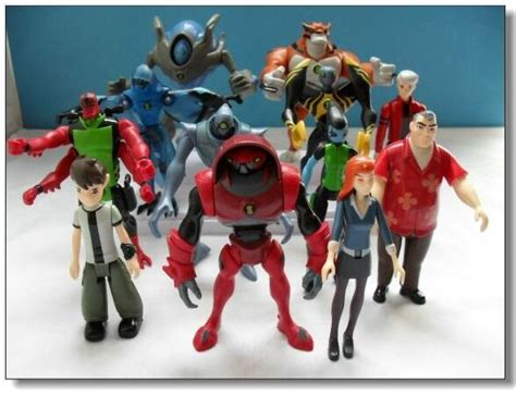 ben 10 pvc figure set wholesale 12 pcs