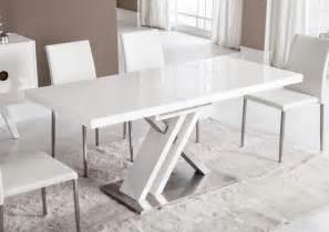acheter votre table moderne pied central croix laqu 233 e