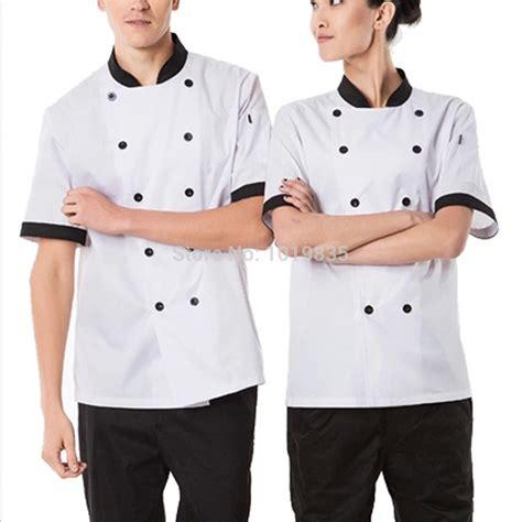 jual baju koki baju chef kemeja koki lengan panjang