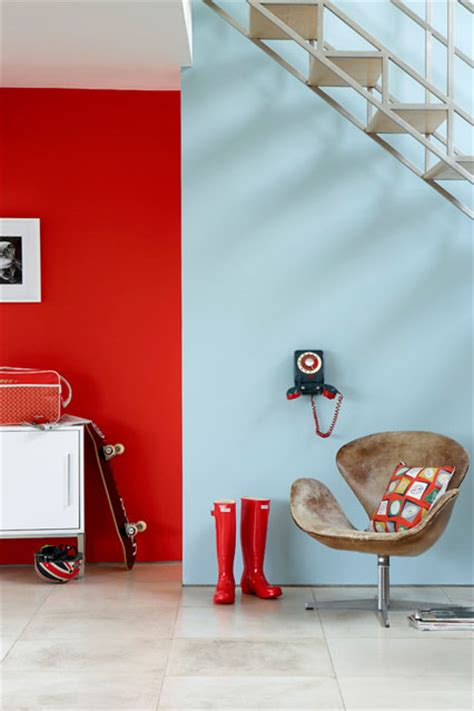 primary pairs wall paint wall feature wall paint colour ideas houseandgarden co uk