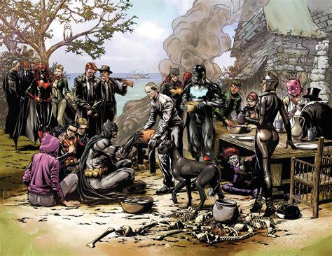 Batman Thanksgiving Wallpaper | does the new batman eternal teaser reveal nightwing s