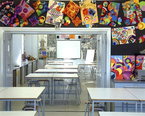 art classroom layout designs what design features are important in an art classroom