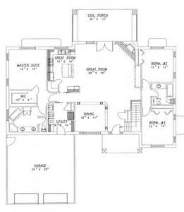 Ranch House Floor Plans Open Plan house plans with open floor plan chanhassen ridge ranch home plan