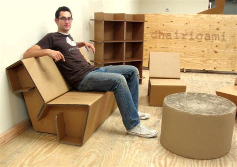 ikea furniture recycle could this cardboard furniture replace your ikea chairs