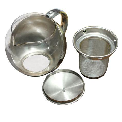 moderne teekanne m9 edelstahl glas gesicht moderne teekanne kraeuter