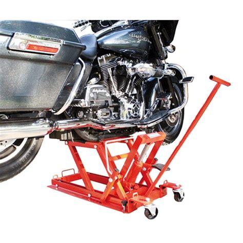 pedana sollevamento moto sollevatore moto bike it idraulico per custom
