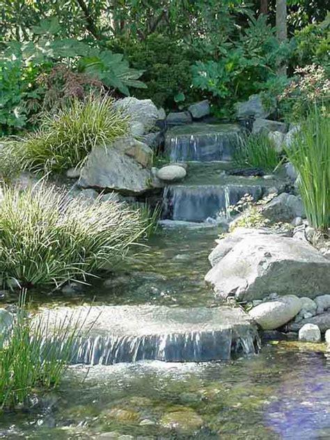 ruscello in giardino ruscello con laghetto nel giardino di casa af1 it