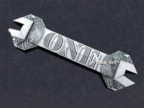 Money Origami Car - wrench money origami dollar bill vincent the artist