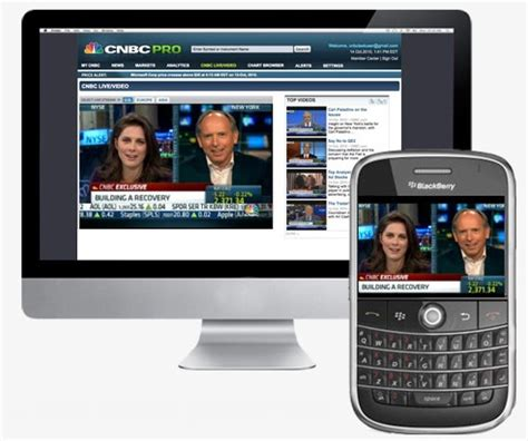 mobile cnbc cnbc pro financial app for blackberry launches