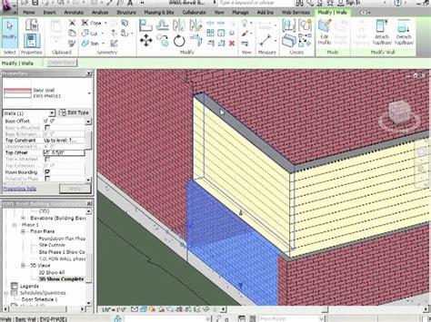 tutorial revit architecture 2012 advanced revit architecture 2012 tutorial wall joins