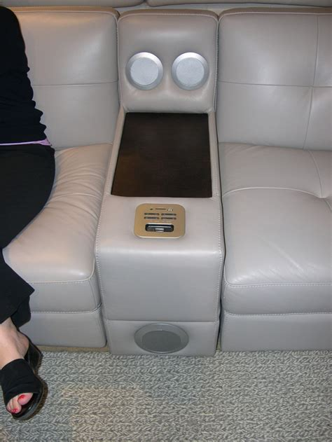 sofa with ipod dock 77 best images about functional sofa on modern