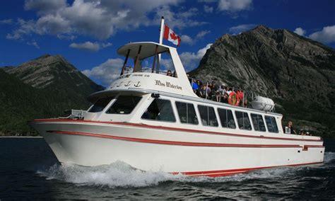 waterton boat glacier national park boating sailing boat rentals