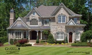 Front elevation luxury house plans european manor style house plans