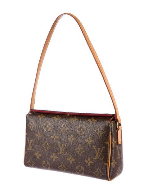 louis vuitton monogram recital bag handbags lou