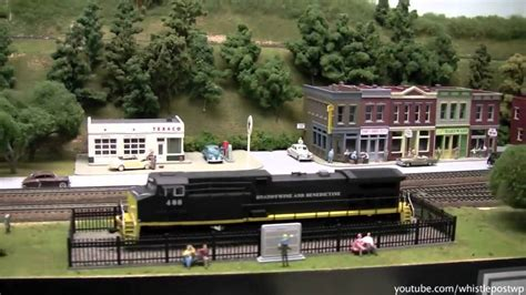 Basement Layouts by Large Ho Basement Model Railroad Layout Youtube
