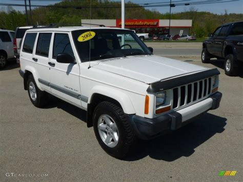 jeep cherokee sport white 2001 jeep cherokee sport pictures to pin on pinterest