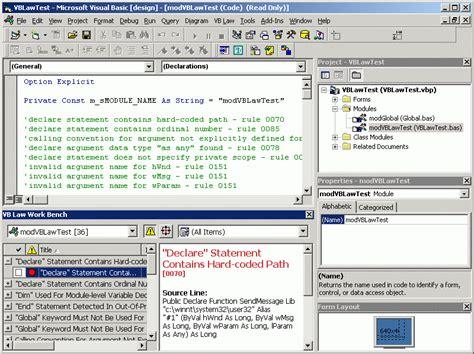 Vb Law Workstation Main Window Visible Progress