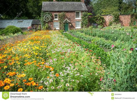 Walled Garden Nursery Cottage Garden Nursery Stock Images Image 36939904