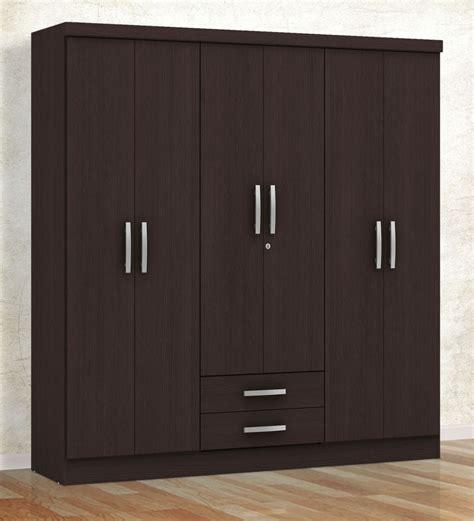 6 Door Wardrobes by Buy Marc Five Door Wardrobe With Drawer In Oak Finish By