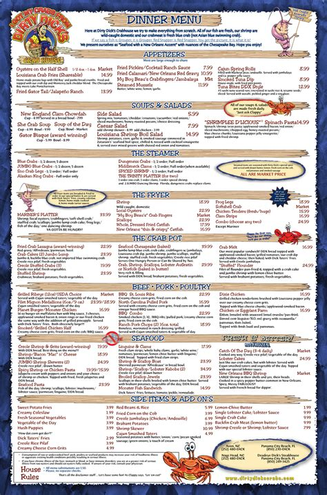 dirty dicks crab house dirty dick s crab house obxmenu com