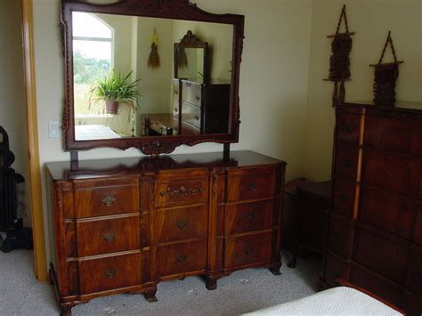 1940s bedroom furniture chippendale revival circa 1940 5 pc bedroom set for sale