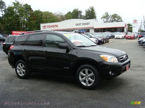 2007 Toyota Rav4 Limited 2007 Toyota Rav4 Limited 4wd In Black 025829 Autos Of