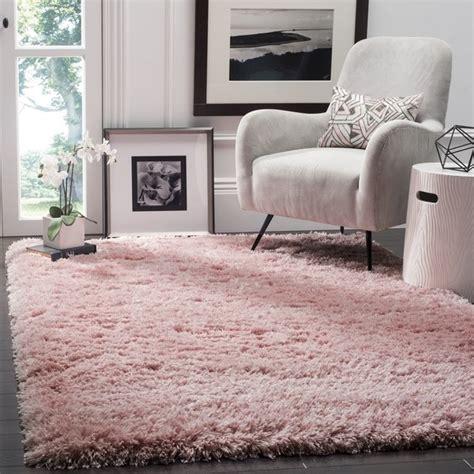 light pink shag rug safavieh polar light pink shag rug 3 x 5 free