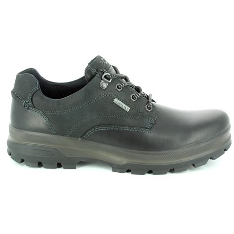 Mens Rugged Casual Shoes by Ecco Rugged 838034 51707 Black Casual Shoes