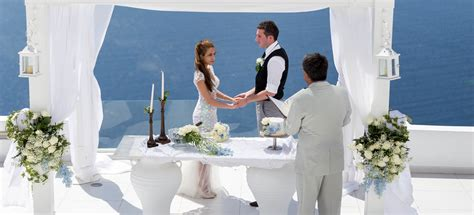 santorini wedding ceremony cost santorini wedding packages price