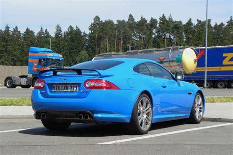 Jaguar Auto Blau by Galerie Jaguar Xkr S Heckansicht Bilder Und Fotos