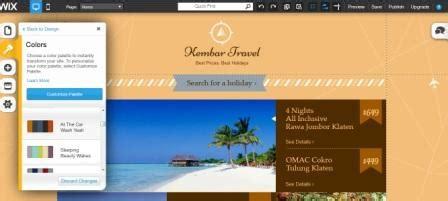 cara membuat website gratis dengan wix cara membuat website menggunakan wix kursus komputer