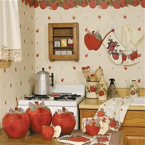 kitchen decor collections laurens linens country apple kitchen items