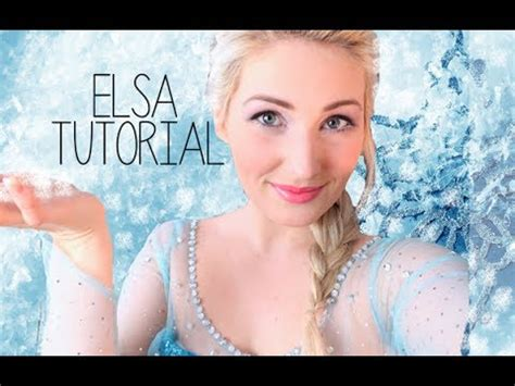 queen elsa makeup tutorial queen elsa makeup tutorial and costume cosplay halloween