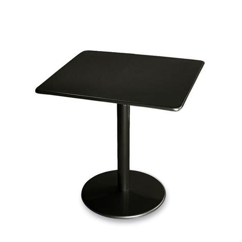 Emu Bistro Table Emu 30 Quot Square Bistro Table With Solid Top Pool Patio Furnishings Upbeat
