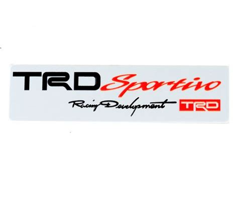 Autoparts1 Logo Trd Sportivo souq trd sportivo car emblem badge logo sticker aluminum alloy for toyota corolla fj cruiser uae
