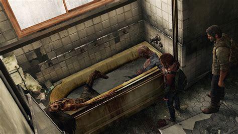 painting of dead man in bathtub siggraph 文明崩壊後の世界を間接光で描いた the last of us のライティングシステムとは