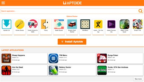 aptoide for android aptoide new version apk wolilo