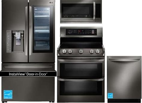 lg kitchen appliance reviews best black stainless steel kitchen packages from lg