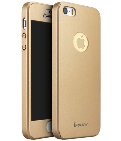 Ipaky Original Iphone 5 5s apple iphone 5s cover by ipaky golden plain back