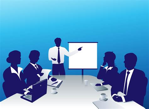business clipart meeting
