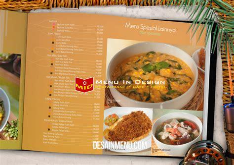 indonesian food design design menu restaurant indonesia