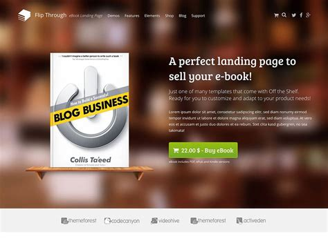 10 Best Wordpress Themes For Selling Books 2018 Athemes Book Launch Website Template