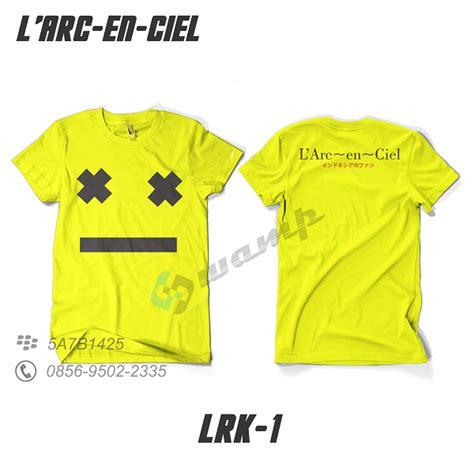 Kaos Larc En Ciel 4 muhrokib net pre order ready stok tshirt baju kaos l