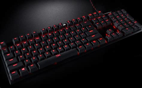 Keyboard Gaming Hyperx hyperx alloy fps mechanical gaming keyboard review reactor