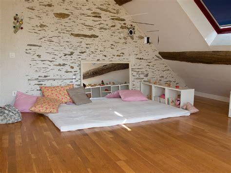 meuble a casier 3749 espace nido avec lit au sol mobile munari barre pour se