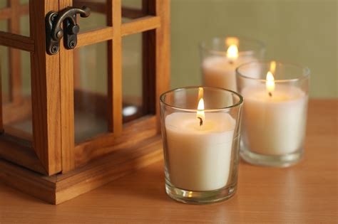 Glass Votive With Unscented Candle Galleon Hosley 174 Set Of 48 Unscented Clear Glass Wax