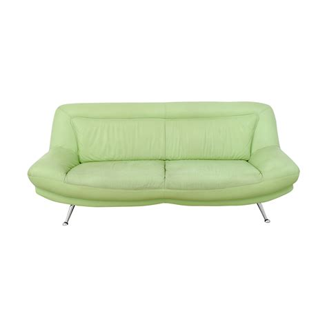 mint green sofa mint green leather sofa 78 italian mint green leather