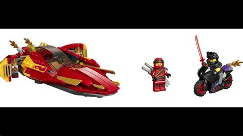 lego ninjago boat fire boat kai ninjago sons of garmadon youtube