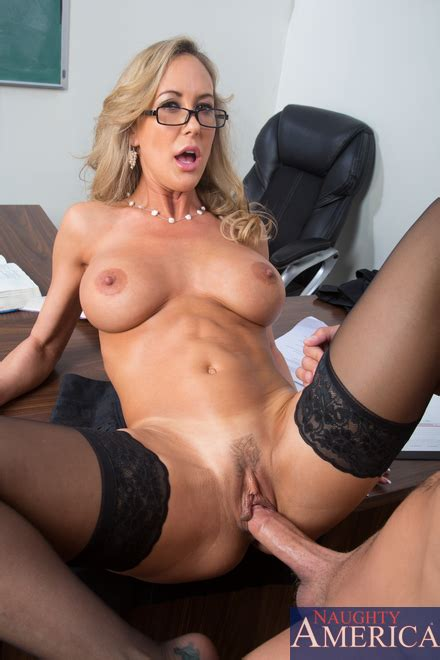 Teacher Brandi Love Get Down On Xander S Bologna Milf Fox