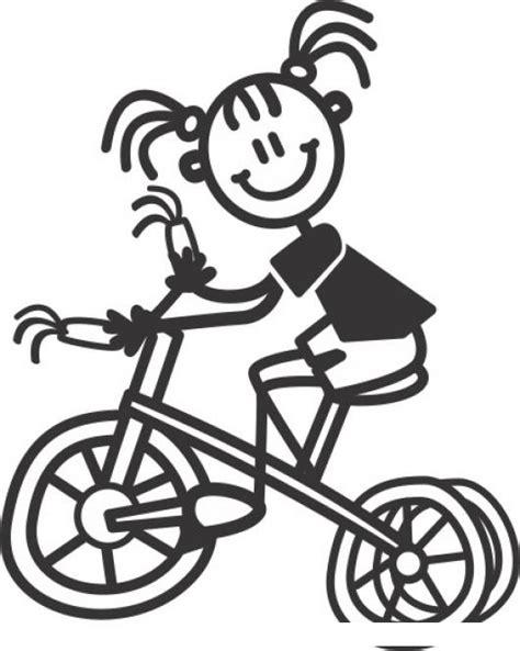 imagenes para colorear bicicleta bicicleta de nena dibujo de nina en cicle para colorear